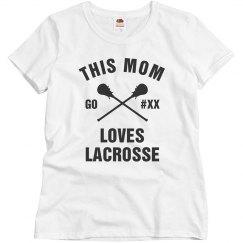 Custom Mom Lacrosse Lover