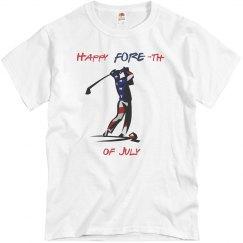 4th of July Golfer