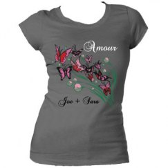 Amour Butterfly Tee