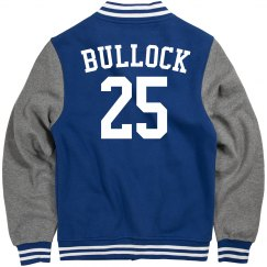 Custom letterman jacket