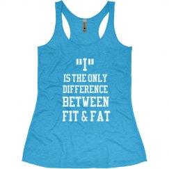 Fit & Fat Workout Tank