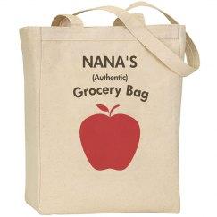 Nana's grocery bag
