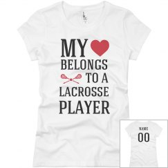Heart Belongs To Lacrosse Player