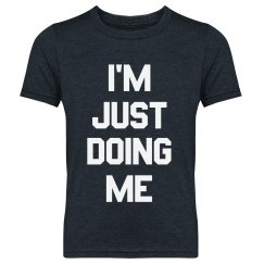 Just Being Me Youth Tee