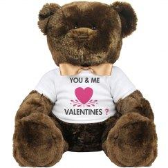 You & me valentines?