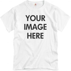 Upload Your Photo Custom Tee