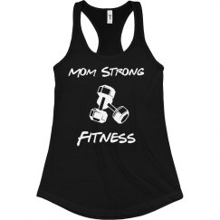 Mom strong Graphic Tank