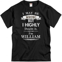 I'm William