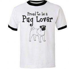Proud pug lover