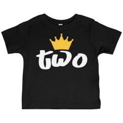 Two Toddler Tee