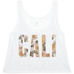 Cali Floral Text