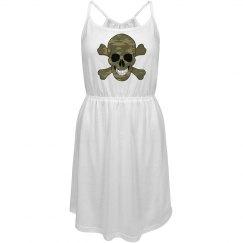 Camouflage Skull Dress