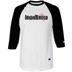 Champion Unisex 3/4 Raglan Sleeve T-Shirt