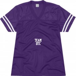 Ladies Relaxed Fit Mesh Football Jersey