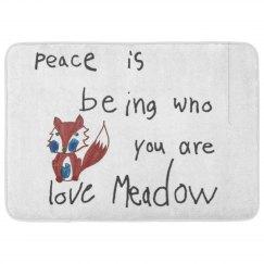 Meadow's Peace fox