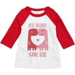 Best Friend Dino Kids Tee