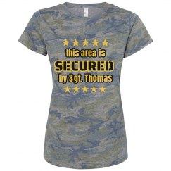 Army Girlfriend Secured