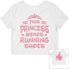 This Princess Running Shoes Tee