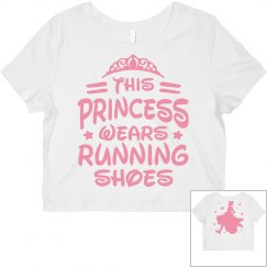 This Princess Running Shoes Tee