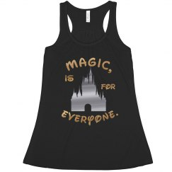 Magic, is for everyone. Tank