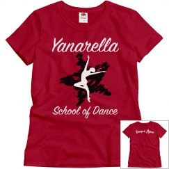 YSD Red Tee- Dance Mom