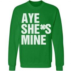 Aye She's Mine St Pat Guy
