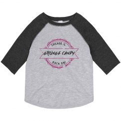 Toddler baseball pink