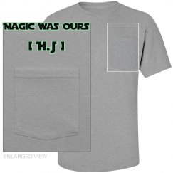 "Pocket Tee - ""Magic"" (Grey)"