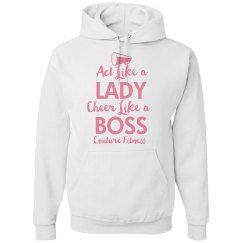 Cheer like a boss cheer sweat shirt