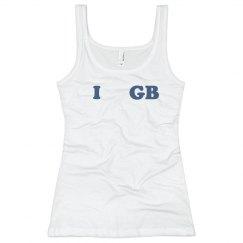 I Love GB Baseball Tank