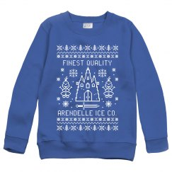 Finest Quality Arendelle Ice Cute Kids Ugly Sweater