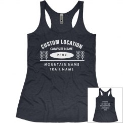 Create Custom Hiking/Camping Tanks for the Group