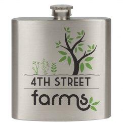 4th Street Farms Flask
