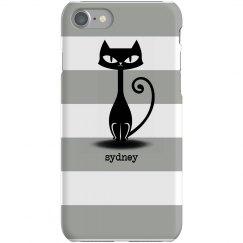Cat Stripe iPhone Case