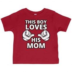 Boy Loves Mom