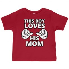 Boy Loves Mom