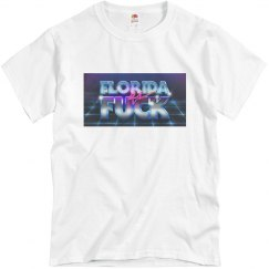 Florida as Fuck logo t-shirt