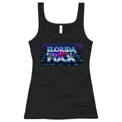 Logo Slim Fit Ladies Tank Top