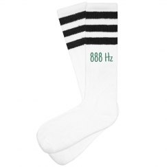 Vibration 888 Hz Socks