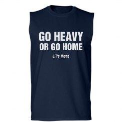 Go Heavy Fitness Tee