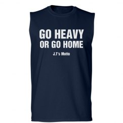 Go Heavy Fitness Tee