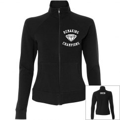 Women's Remaking Champs Athletic Zip Up