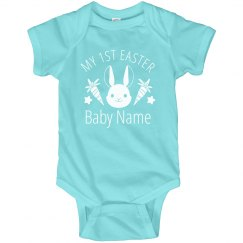 Custom Name Baby's First Easter