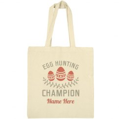 Egg Hunt Champion Tote
