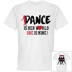 Dance is her world