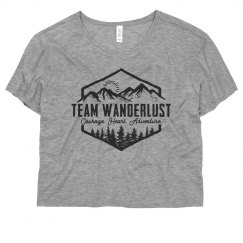 Team Wanderlust Crop Shirt