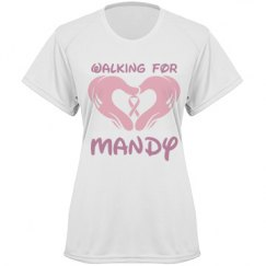 Walking for Mandy