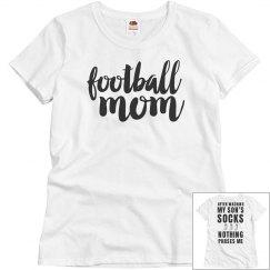 Football Mom Respect Basic Tee