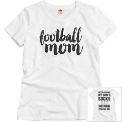 Football Mom Respect Basic Tee