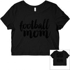 Football Mom Respect Flowy Tee